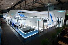 Sustainability on 3500 sqm - Siemens at HMI 2010 | Triad Berlin