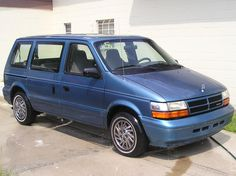 1994 dodge caravan - had one exactly like this, the kids grew up in this one, sentimental about it really