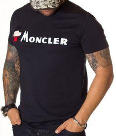 Moncler Tricou Bird Logo - Bleumarin Tricou Moncler Aplicatie Moncler Bird Logo frontala Culoare: bleumarin Material: bumbac Modelul poarta marime M. Bird Logos, Moncler, Mens Tops, T Shirt, Fashion, Supreme T Shirt, Moda, Tee Shirt, Fashion Styles