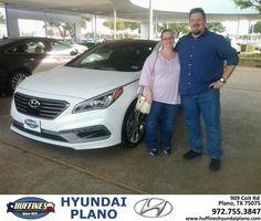 https://flic.kr/p/DxdYdb | Happy Anniversary to Brad-Jerri on your #Hyundai #Sonata from Samuel Anthony Salas at Huffines Hyundai Plano! | deliverymaxx.com/DealerReviews.aspx?DealerCode=H057