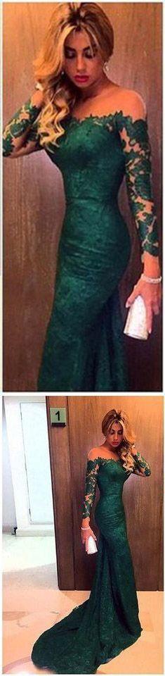prom dresses,Charming Mermaid Lace Prom Dresses,Long Evening Dresses,Prom Dresses On Sale