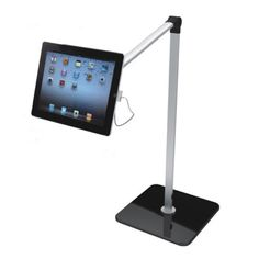 Adjust your iPad to exactly where you need it. Roll from portrait mode to landscape mode by simply twisting. Pitch the iPad up or down up to 45 degrees. Adjust left or right up to 270 degrees, and is