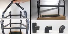 Como construir un mini-invernadero casero con materiales simples Shelves, House, Home Decor, Ideas, Tool Storage, Recycled Crafts, Table Football, Homemade Tables, Leather Design