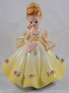 Vintage Stauffer Original Figurine Girl   #686292451