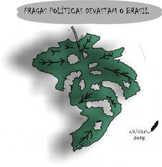 PRAGAS POLÍTICAS DEVASTAM O BRASIL...