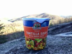 Vegan backpacking soup
