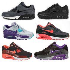 Nike Air Max 90 Premium Essential Damen Schuhe Sneaker Leder 1 one schwarz grau in Kleidung & Accessoires, Damenschuhe, Turnschuhe & Sneaker | eBay