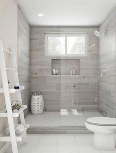 DreamLine Enigma-X 68 in. to 72 in. x 76 in. Frameless Sliding Shower Door in Po. - DreamLine Enigma-X 68 in. to 72 in. x 76 in. Frameless Sliding Shower Door in Po… DreamLine Enigma-X 68 in. to 72 in. x 76 in. Frameless Sliding Shower Door in Po… Bathroom Renos, Bathroom Renovations, Shower Ideas Bathroom, Small Bathroom Showers, Basement Bathroom Ideas, Bathroom Shower Remodel, Master Bathroom Shower, Bathroom Gray, Wood Look Tile Bathroom