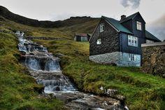 Лучшие фотографии со всего света - 10 сказочных деревень Фарерских островов