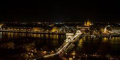 Chain Bridge over the Danube River #Budapest #travel #city #Europe