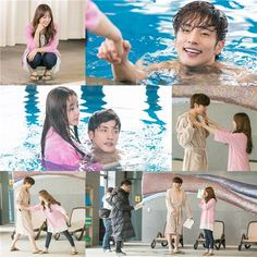 "Song Ji Eun And Sung Hoon Go On A Cute Pool Date In Stills For ""My Secret Romance"" 