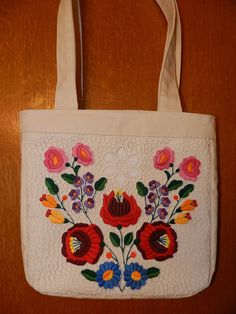 Hungarian bag from Kalocsa by Hungarianhouse on Etsy