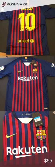 c16372d5bb Fc Barcelona Messi 10 2018-2019 Jersey Brand New Jersey with tags Nike  Shirts Tees