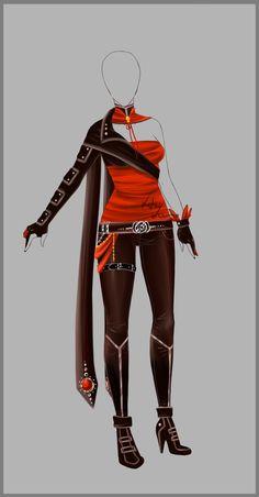 Outfit design - 73 - closed by LotusLumino.deviantart.com on @deviantART