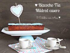 Celebra con Ana: ♥ Bizcocho Tía Mildred (o casi)