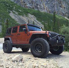 Bezdroża wśród gór – czyli #JeepWrangler we właściwym miejscu! #Jeep #JeepLife