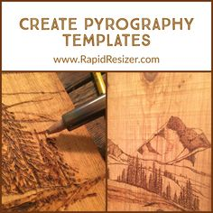 Wood Burning Patterns, Home Printers, Pyrography, Wood Working, Woodworking Projects, Print Patterns, Stencils, Templates, Inspiration