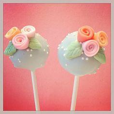 Rosette Cake Pop