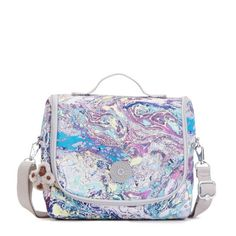 Kichirou Lunch Bag - Marble Multi | Kipling
