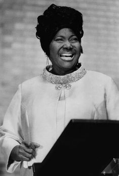 Gospel singer Mahalia Jackson was born today in Many an older Boomer will recall her ardent singing at the March on Washington in My Black Is Beautiful, Beautiful People, Beautiful Women, Cabaret, Mahalia Jackson, Vintage Black Glamour, Lord, African Diaspora, Gospel Music