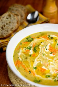 Persian Creamy Barley Soup is a warm bowl of comfort, nutritious to the core and bursting with taste, flavor and....... Oh so creamy!!