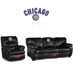 Use this Exclusive coupon code: PINFIVE to receive an additional 5% off the Chicago Cubs Leather Furniture Set at SportsFansPlus.com
