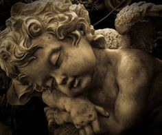 angel statue images, image search, & inspiration to browse every day. Cemetery Angels, Cemetery Art, Angels Among Us, Angels And Demons, Religious Tattoos, Religious Art, Statue Ange, Cherub Tattoo, Statue Tattoo