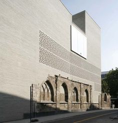 Kolumba Museum by Peter Zumthor, Koln, Germany. Great intervention! Visited in Dec. 2012.
