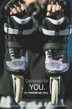 Designed for YOU.  Powerslide Swell Fitness Inline Skates  www.powerslide.com www.swell.powerslide.com  #swellskates #powerslide #inlineskating #fitness #welovetoskate