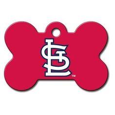 St. Louis Cardinals Bone ID Tag