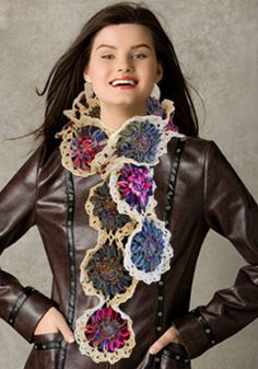 Free Pattern for the Bloom Loom(TM) Scarf designed by The Crochet Dude(R)