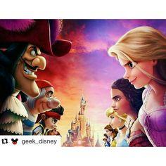 Pirates and princesses - disney - disneyland paris disney crossovers, disne Disney Princess Drawings, Disney Princess Art, Disney Fan Art, Disney Drawings, Princess Rapunzel, Disney Marvel, Heros Disney, Humour Disney, Disney Memes