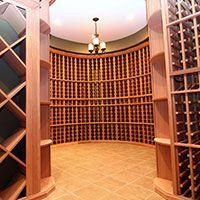 Wine Cellar Design - Building a Custom Wine Cellar Wine Cellar Racks, Wine Cellars, Wine Rack, Storage Design, Storage Ideas, Wine Cellar Design, Small Fridges, Basement Inspiration, Wine Display