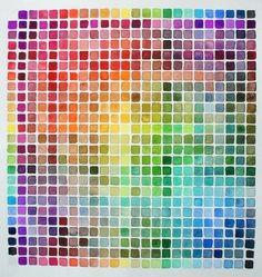 Water color pallette