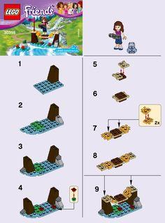 Friends - Adventure Camp Bridge [Lego 30398]