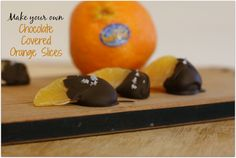 Make Your Own Chocolate Covered Orange Slices Perfect recipe for Christmas parties! #HalosFun #ad