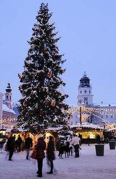 Salzburg, Austria ... Old City Christmas market