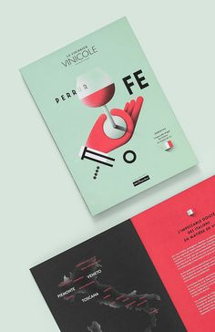 SAQ, LE COURRIER VINICOLE - ITALIE on Behance