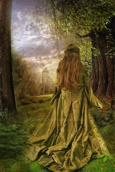 She hears his spirit calling, calling from deep within the wood...