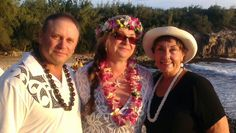 Dale & Dolly renewed their wedding vows December 12 at shipwreck beach