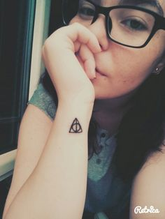 And all was well. #tattoo #harrypotter #deathlyhallows