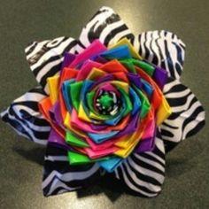 Rainbow duct tape flower!!!!!!!!!!!!!!