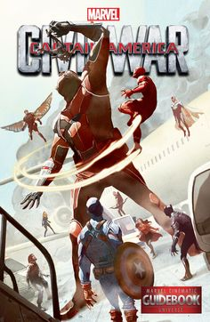 Guidebook to the Marvel Cinematic Universe - Marvel's Captain America: Civil War #1 #Marvel @marvel @marvelofficial (Cover Artist: Mike Del Mundo) Release Date: 1/25/2017