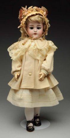 Pretty S & H Child Doll.