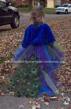 More peacock fairy ideas (seems like that's the way she's leaning for this year)