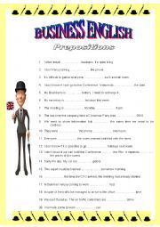 English worksheets: business worksheets, page 4