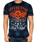.Affliction FADED IRON