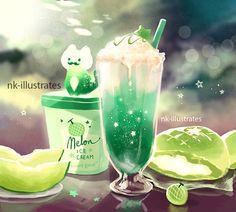 Melon Cream Cat.
