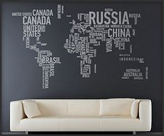 WOW this is really cool! Kids need this in their geography class. Slash I need it in my basement because it's awesome.