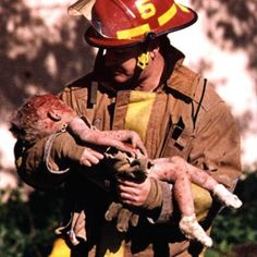 Oklahoma City Bombing...little Baylee Almon would pass away that day.....